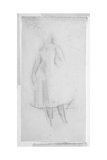 Sketch of a Female Figure, 1888