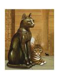 Mike the British Museum Kitten, 1995