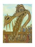 Creation of a Dragon, 1983