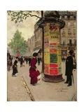Paris Kiosk, Early 1880s