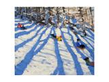 Tree Shadows, Morzine