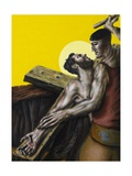 Stations of the Cross XI: Jesus Is Nailed to the Cross, 2007