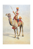 Sowar of the Bikanir Camel Corps, Illustration for 'Armies of India' by Major G.F. MacMunn,?