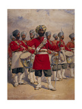 Soldiers of the 45th Rattray's Sikhs 'The Drums' Jat Sikhs, Illustration for 'Armies of India' by?