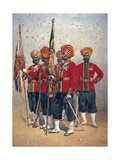 Soldiers of the 15th Ludhiana Sikhs, Illustration for 'Armies of India' by Major G.F. MacMunn,?