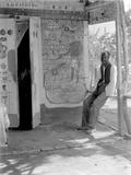 Entrance to a Voodoo Shrine, Haiti, 1908-09