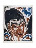 Portrait of Otto Mueller (1874-1930) 1915