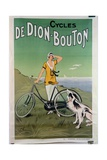 Poster Advertising the 'De Dion-Bouton' Cycles, 1925