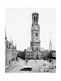 Bruges Belfry, 1904