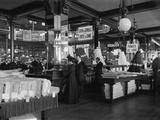 The Fabric Department of Le Bon Marche Stores, Paris, c.1900