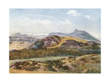 Arthur's Seat from the Braid Hills