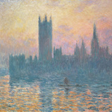 The Houses of Parliament, Sunset, 1903