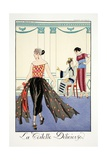 La Toilette Delicieuses, from 'Falbalas and Fanfreluches, Almanach des Modes Presentes, Passees et?
