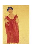 Woman with Blue Hair; Frau Mit Blauem Haar, 1918