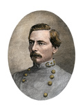 General P.G.T. Beauregard in His Confederate Uniform, 1865