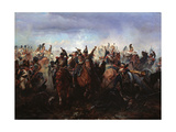 The Battle of Fer-Champenois on March 13, 1814