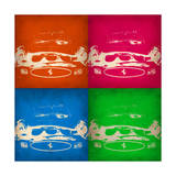 Ferrari Front Pop Art 1