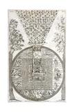 Tibetan Cosmology, 18th Century Artwork
