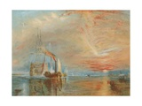 The Old Temeraire Tugged to Her Last Berth