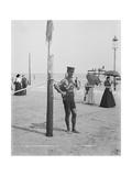 A Life Guard, Brighton Beach, N.Y.
