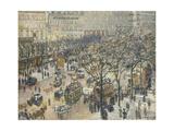 Boulevard Des Italiens, Morning, Sunlight, 1897