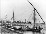 Dahabiya on the Nile, C.1873-86
