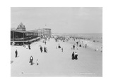 The Beach at Rockaway, N.Y.