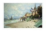 The Beach at Trouville; La Plage a Trouville, 1870