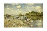 The Laundry; La Lavandaie, 1874