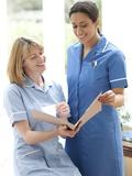 Nurses Checking Notes