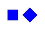Square Illusion - Orientation