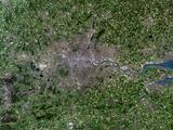Greater London, Satellite Image