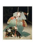 Ichikawa Danjuro VII Overpowering an Officer of the Law, C.1830-44