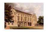 Exterior of Magdalene College Library, Cambridge, from 'The History of Cambridge', Engraved by?