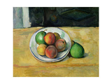 Still Life with a Peach and Two Green Pears, C. 1883-87