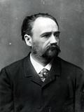 Portrait of Emile Zola (1840-1902)