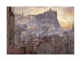 Edinburgh Castle from George IV Bridge