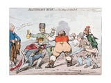 Blindman's Buff, or Too Many for John Bull, Published by Hannah Humphrey in 1795