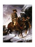 Napoleon Crossing the Alps, 1850