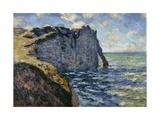 The Cliff of Aval, Etretat, 1885
