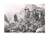 The Taking of Badajoz, Illustration from 'British Battles on Land and Sea', Published by Cassell,?