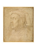 Bust of a Man Wearing a Chaperon