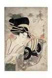 The Courtesan Ichikawa of the Matsuba Establishment, Late 1790s