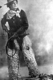 Adele Voughle, Cowgirl, C.1880-1900