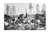 Yosemite Indian Huts, C.1870s