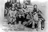 Northern Cheyenne Indians, Dodge City, Kansas, 1878
