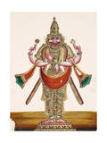 Vishnu as the Man-Lion Lord Narasimha, from Thanjavur, India