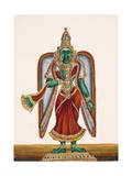 Meenakshi, Goddess of Madura, from Thanjavur, India