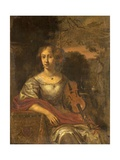 Lady with a Violin, C.1675