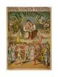 Theatre Poster, La Mascotte at the Royal Comedy Theatre, London